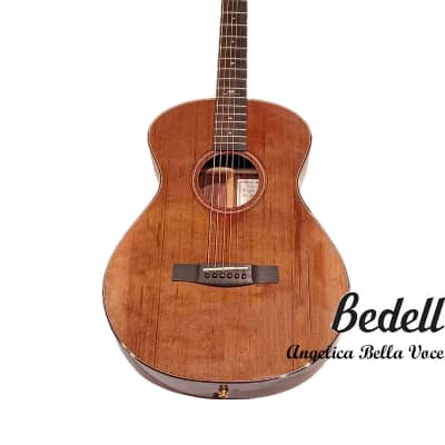 Bedell Angelica Bella Voce Orchestra Red Cedar & Indian rosewood handmade Built in Electronic Guitar for sale