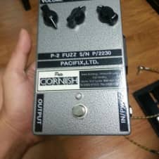 Pete Cornish P-2 Early Fuzz Effect Pedal S/N P/2230 Pacifix,LTD. Rare Collectible P2