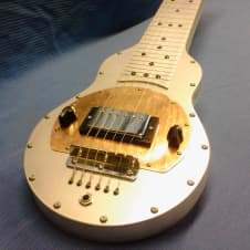Fouke Industrial Guitars ElectraSlide Custom Lap Steel Guitar 2016 Aluminum image