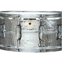 Ludwig LM402 6.5x14 Supraphonic Hammered Aluminum Snare Drum 2010s image