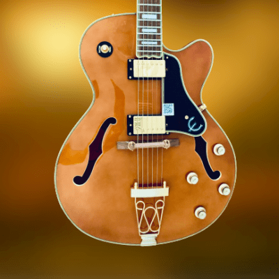 Epiphone Joe Pass Emperor II Pro  2019 Vintage Natural, ( Open Box Guitar ) for sale