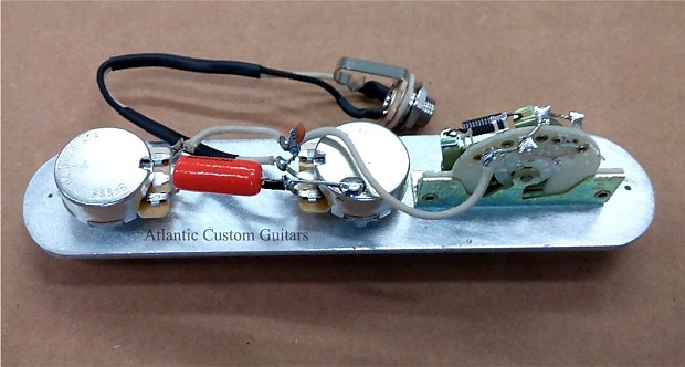 upgraded telecaster 3 way wiring harness cts crl treble. Black Bedroom Furniture Sets. Home Design Ideas