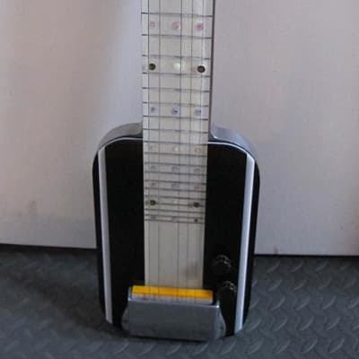 Aloha Lap Steel Guitar 1940-1950's Black and White for sale