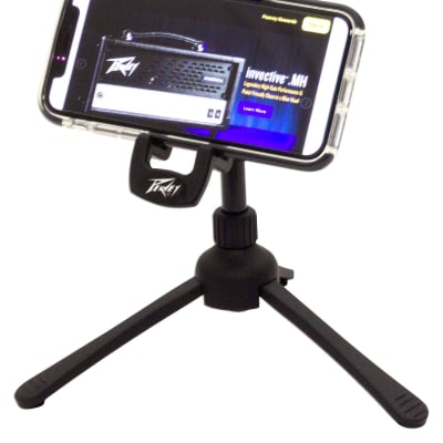 Peavey Smartphone Desktop Tripod Stand Black