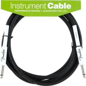 Fender Performance Series 10ft Instrument Cable for sale