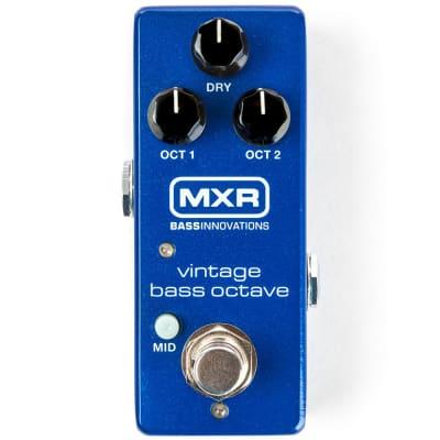 MXR Vintage Bass Octave Mini Housing Octave Octaver Bass Guitar Pedal Mid Boost