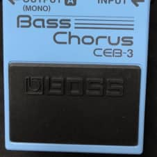 Boss CEB-3 Bass Chorus Authorized Dealer!!