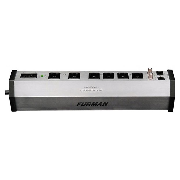 furman power station 6 outlet strip power conditioner sturdy reverb. Black Bedroom Furniture Sets. Home Design Ideas