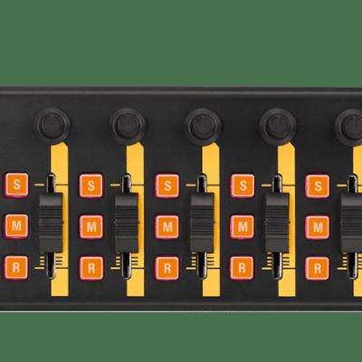 Korg nanoKontrol2-ORGR (Orange) Slim USB MIDI Fader Controller