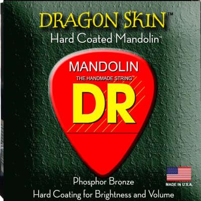 DR DSM-11 Dragon Skin Coated Mandolin Strings gauges 11-40