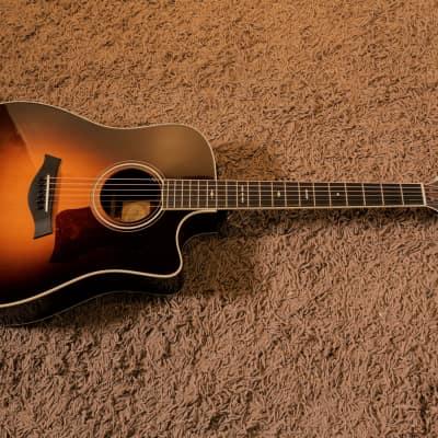 2012 Taylor 710ce / Warm Vintage Sunburst