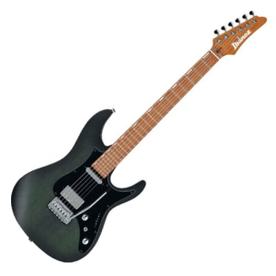 Ibanez EH10-TGM Erick Hansel Signature 6 String RH Electric Guitar with Gig Bag-Transparent Green Ma for sale