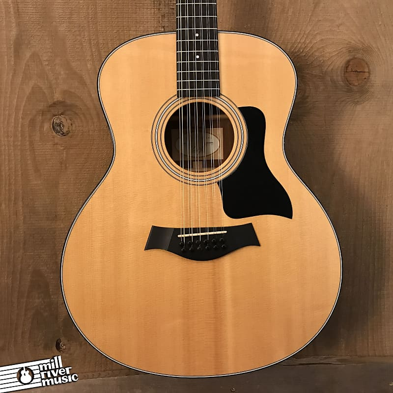 Taylor 356e 12-String Acoustic Electric Guitar Natural 2014 w/ OHSC