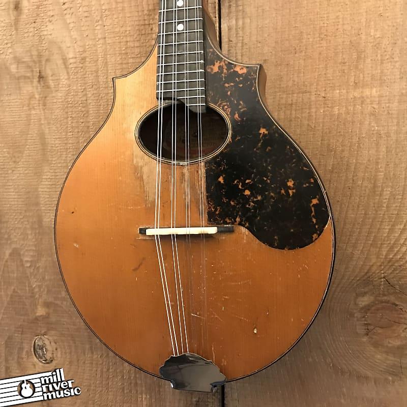 Washburn Lyon & Healy Model 1915 Vintage Mandolin c. 1923 w/ Case