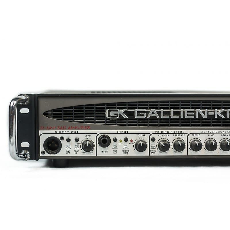 gallien krueger 700rb ii bi amp bass head amplifier 2000s usa reverb. Black Bedroom Furniture Sets. Home Design Ideas