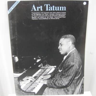 Art TatumJazz Masters Sheet Music Song Book Songbook Piano