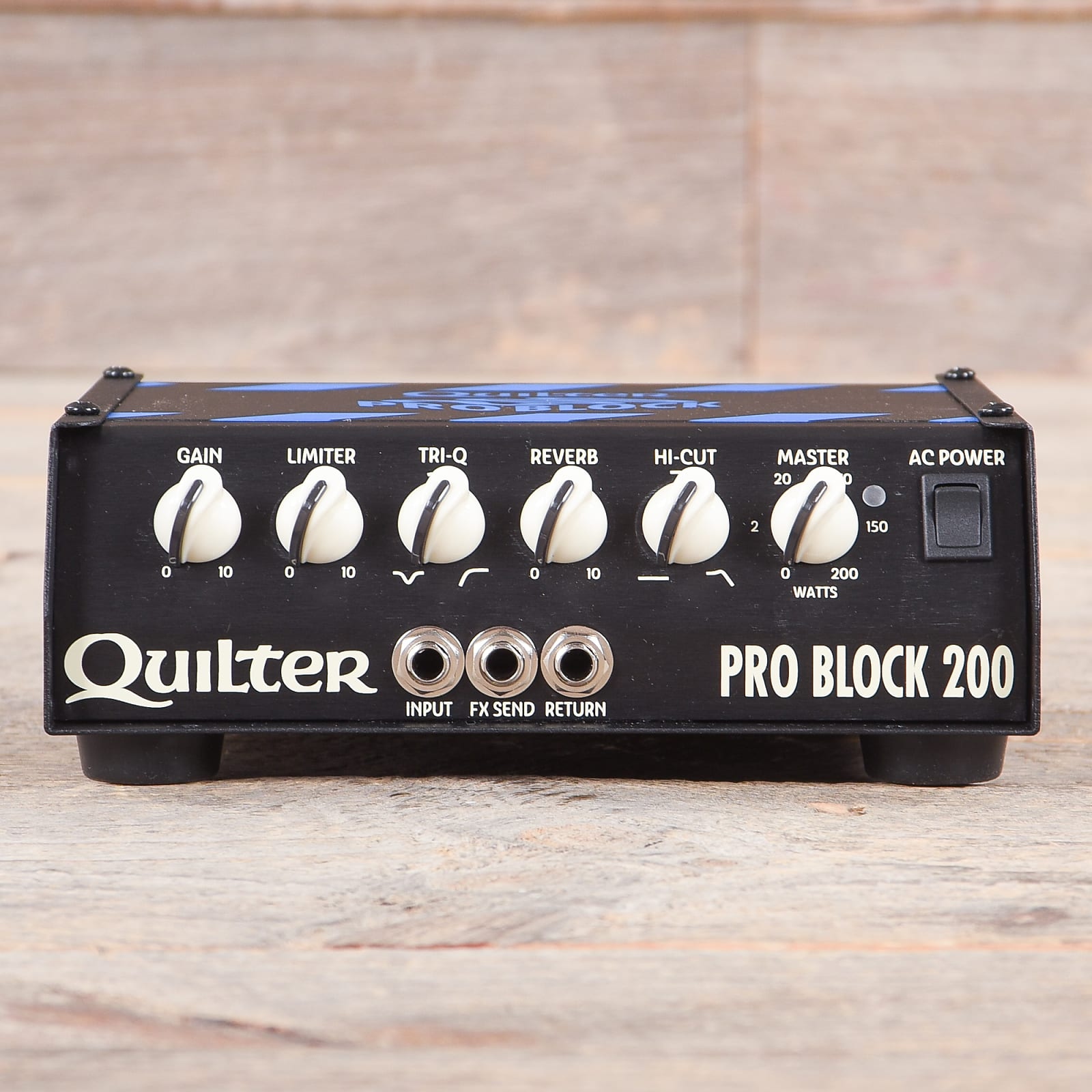 e91e2aa8b6 Quilter Labs Pro Block 200 Head USED