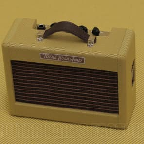 Fender 023-4811-000 Mini '57 Guitar Twin-Amp Tweed 9V Battery Headphone Out