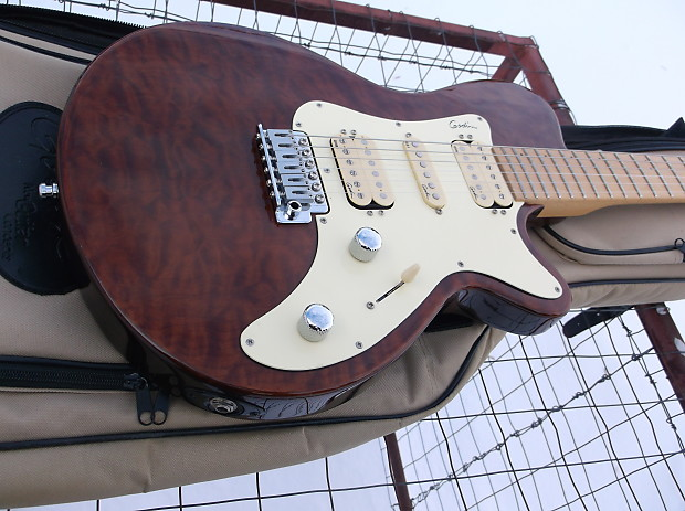 Godin Sdxt Electric Guitar With Gig Bag Shipping Included Reverb