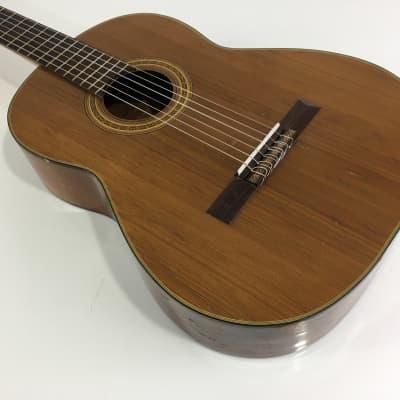 Rare Vintage Hashimoto Gut Guitar Spanish Classical '69 Natural Original Vintage Hard Case MIJ Japan for sale