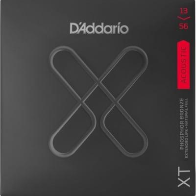 D'Addario XTAPB1356 XT Phosphor Bronze Acoustic Guitar Strings -.013-.056 Medium