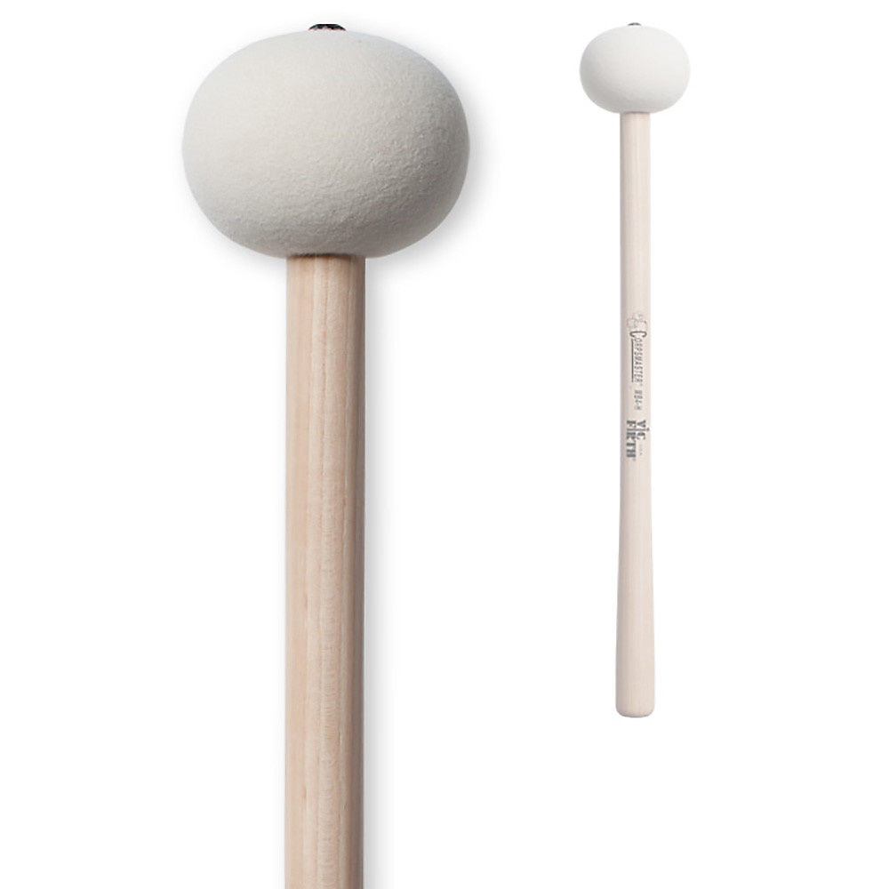 Marching Bass Mallets Hard Vic Firth Corpsmaster Large Head