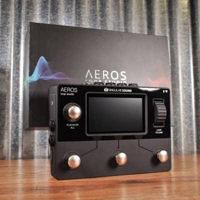 Singular Sound Aeros Loop Studio Guitar Effect Pedal Looper