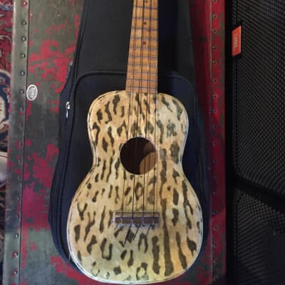 Regal Jungle Uke Ukelele 1950's Leopard for sale