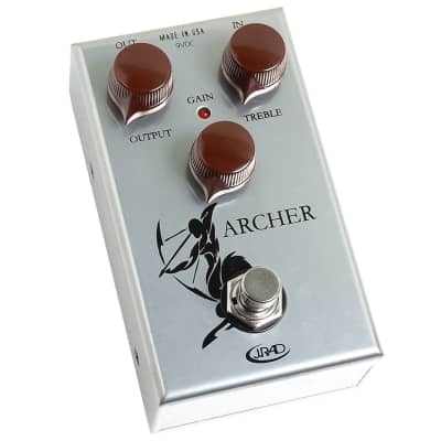 J Rockett Audio Designs Archer Overdrive Boost Klone Pedal for sale