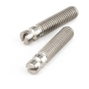 Fender 002-8957-049 Threaded Steel Bridge Pivot Screws (2)