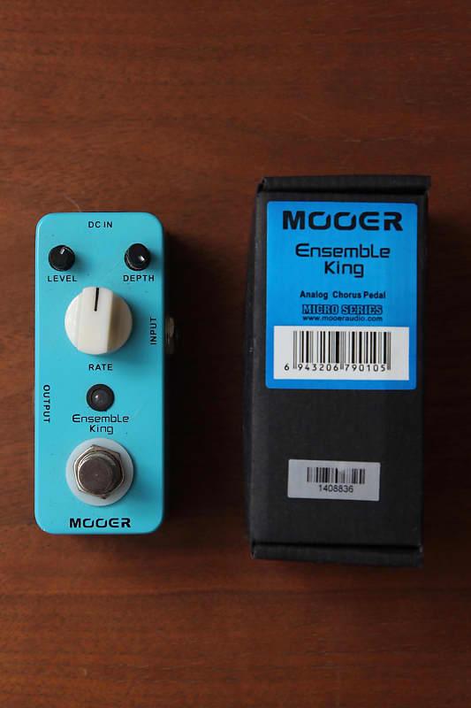 mooer ensemble king analog chorus pedal guitars n synths reverb. Black Bedroom Furniture Sets. Home Design Ideas