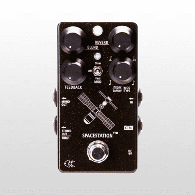 CKK Electronic Space Station TTM -Stereo Delay & Reverb with Tap Tampo and Modulation Control