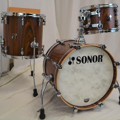 "Sonor 18/12/14"" SQ2 Vintage Maple Drum Set - Rosewood"