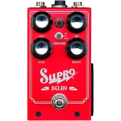 Supro Analog Delay Guitar Effects Pedal 1313 Delay