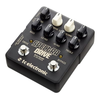 TC Electronic SpectraDrive Bass Preamp/Overdrive Pedal for sale