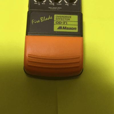 Maxon OD-F1 1990's Green/orange