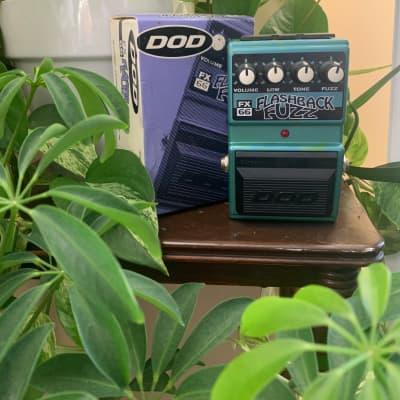 DOD FX66 Flashback Fuzz + Box & Manual for sale
