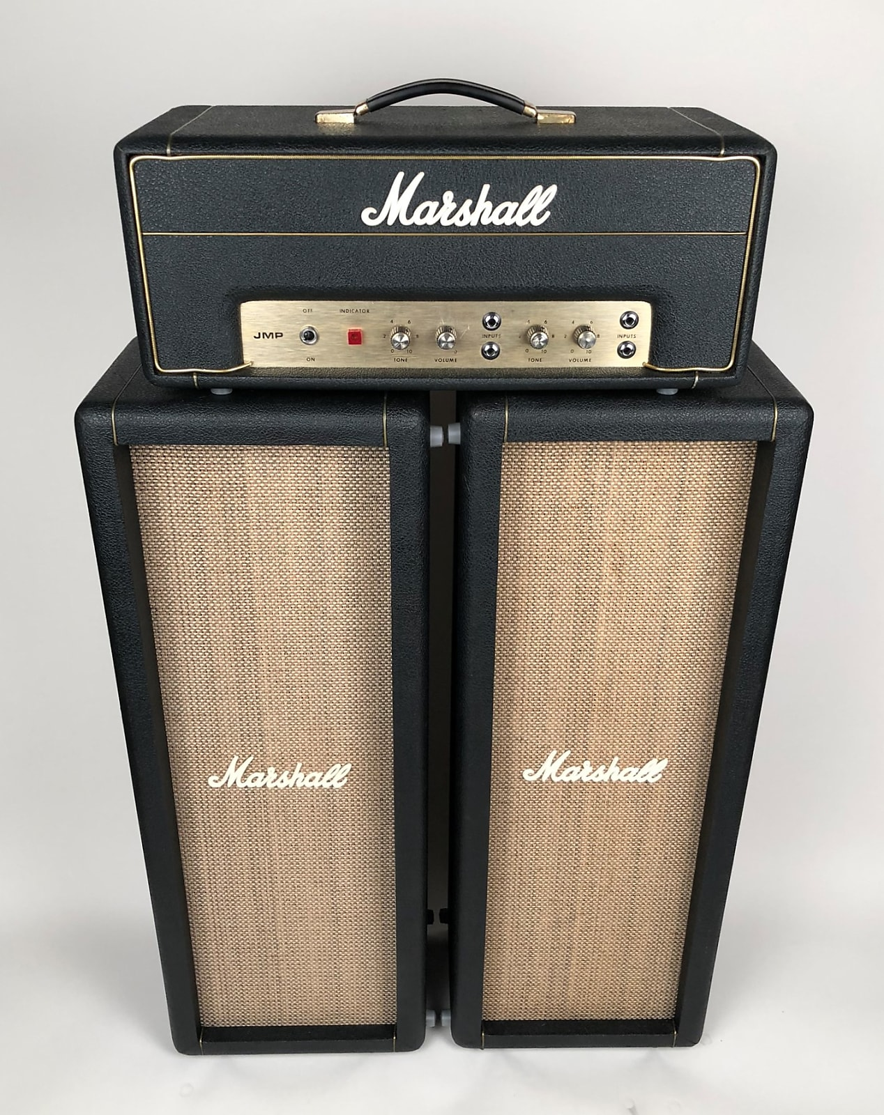 "Gorgeous 1971 Marshall 1917 ""Baby 20"" 20w PA Head with Matching 2x10 Columns"