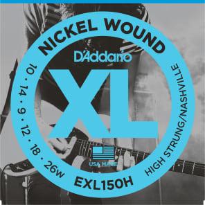 D'Addario EXL150H Electric Guitar Strings Light Top Heavy Bottom 1 Set