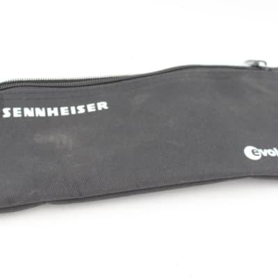 Sennheiser Evolution Microphone Black Pouch Soft Case Zipper Bag