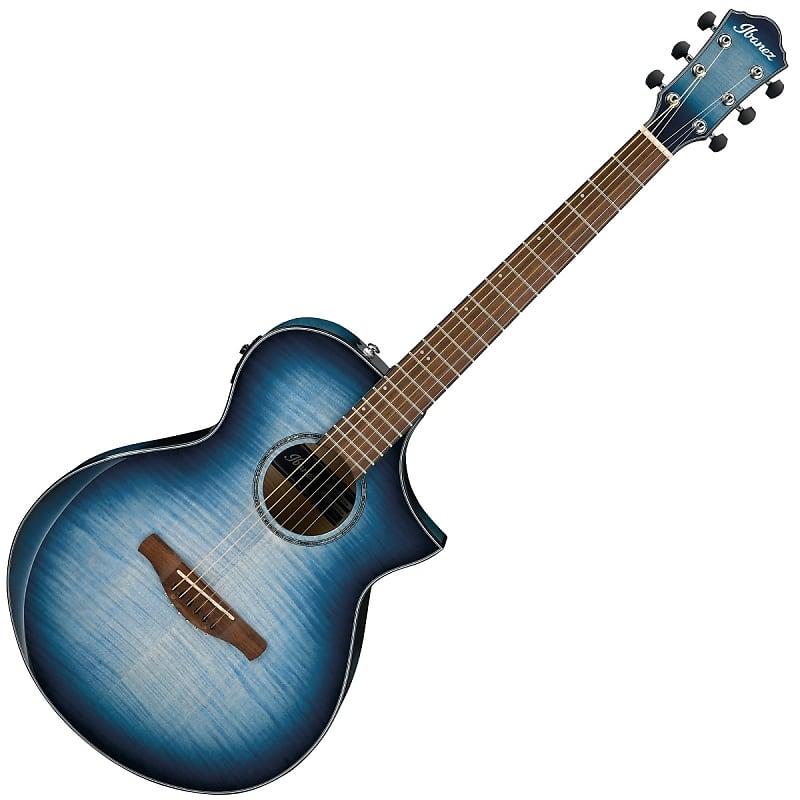 ibanez aewc400 acoustic electric guitar blue burst reverb. Black Bedroom Furniture Sets. Home Design Ideas