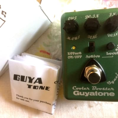 Guyatone CBu1 Cooler Booster Micro Pedal MIJ 2019 - ultra-compact, quiet, versatile overdrive! for sale