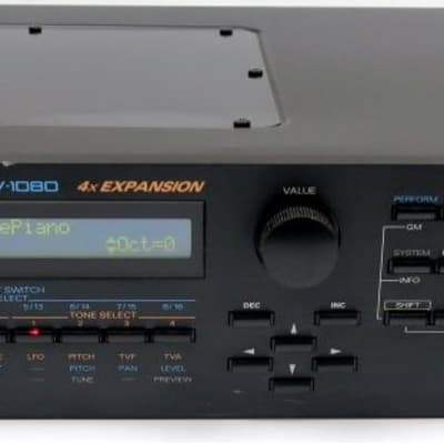 Roland JV-1080 2 HE Rack JV Module JV1080 Soundmodul + Top-Zustand + GARANTIE