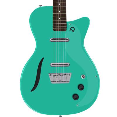 Danelectro '56 Vintage Baritone Electric Guitar Dark Aqua