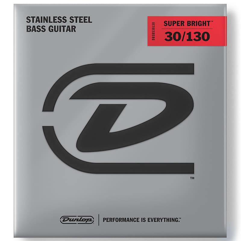 dunlop super bright stainless steel 6 string bass strings reverb. Black Bedroom Furniture Sets. Home Design Ideas