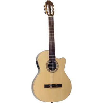 Juan Salvador 1T Thinline Electro-Acoustic Classical Guitar for sale