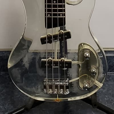 Galveston 4 String Acrylic Bass Guitar for sale