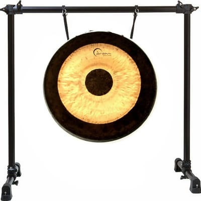 """Dream Cymbals 24"""" Chau Chinese Gong w/ Mallet + Gong Stand"""