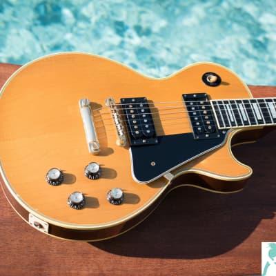 Gibson Custom, Art & Historic '68 Les Paul Custom Reissue - LTD Yamano Export - OHSC & COA - Long Neck Tenon for sale