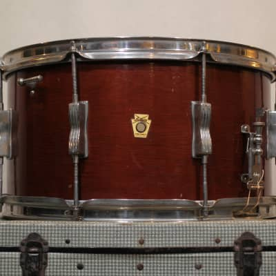 "Ludwig No. 472 Auditorium Model 8x15"" 8-Lug Snare Drum 1960 - 1963"